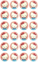 Hello Kitty 24 Mosquito Repellant Patches (Pack Of 24)