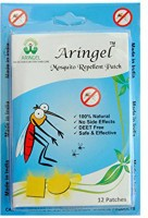Aringel Herbal Mosquito Repellent Patch (12 Pcs) 1st Genration (Pack Of 12)