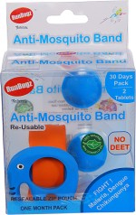 RunBugz Insect Repellents RunBugz Eli Anti Mosquito Bracelet