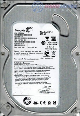 Seagate Pipeline HD (ST3250312CS) 250GB Desktop Internal Hard Disk