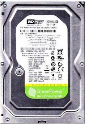 WD AV-GP (WD5000AVDS) 500GB Desktop Internal Hard Disk