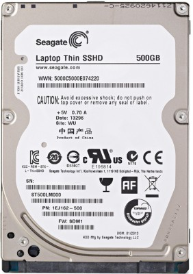 Seagate 2.5 inches SATA 500GB Internal SSHD