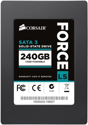 Corsair Force LS Series (CSSD-F240GBLS) 240GB Desktop & Laptop Internal Hard Drive