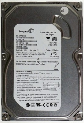 Seagate-Barracuda-IDE-(ST3160215A)-160GB-Desktop-Internal-Hard-Disk