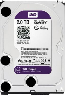 WD (WD20PURX) 2TB Internal Hard Disk