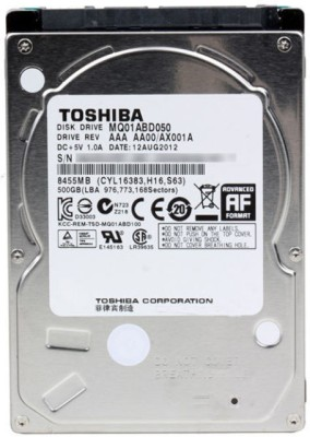 Toshiba (MQ01ABD050) 500GB Laptop Internal Hard Drive