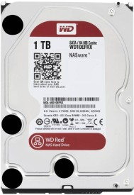 WD Red NAS (WD10EFRX) 1TB Internal Hard Disk