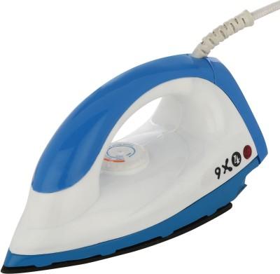Sphere Iron 9X4 Dry Iron (Blue, White)