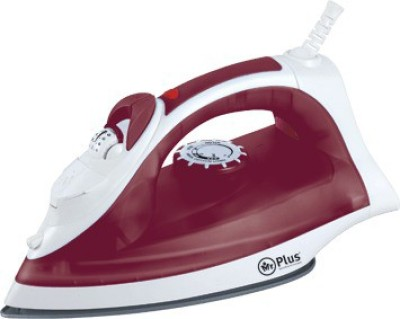 Mr.Plus 2722SI Steam Burst Ceramic Coating Soleplate 2000 W Steam Iron (Red)