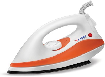 Lazer Candy Dry Iron (White, Orange)