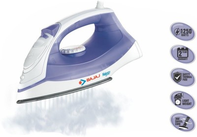 Bajaj Majesty MX3 Steam Iron (Blue)