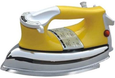 Happy Home Plancha Dry Iron (White, Yellow)