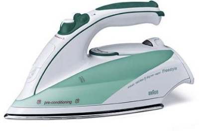 Braun BRN-TS5510 Steam Iron (white/green)
