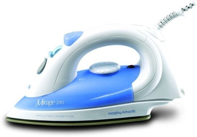 Morphy Richards Mirage 200 1400-Watt Steam Iron (Blue, White)