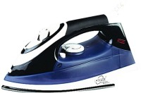 Longer Jewel Steam Iron (Black, White)