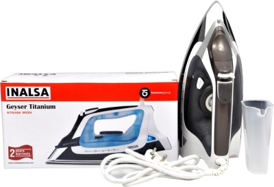 Inalsa Geyser Iron Steam Iron (Black, White)
