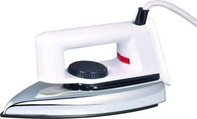 Luxmi Popular Dry Iron (White)