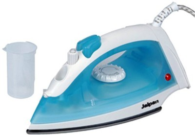 Jaipan Trio 1200 W Steam Iron (White & Blue)