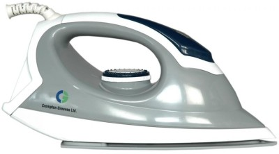 Crompton Greaves DM1 PLUS Dry Iron (White and Grey)