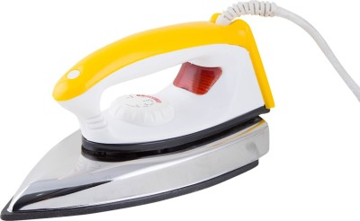 Blue Tech Stylo Dry Iron (Yellow, White)