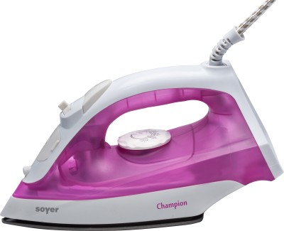 Soyer SI101 Champion Series Steam Iron (Pink)