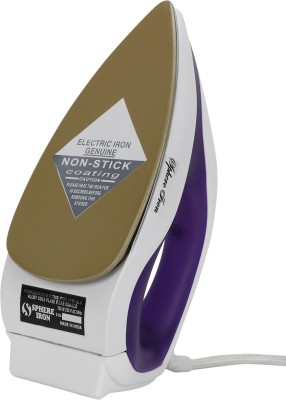 Sphere Iron Dual Toned Dry Iron (Purple, White)