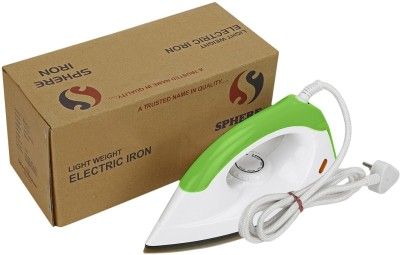 Sphere Iron Dual Toned Iron Dry Iron (Green, White)