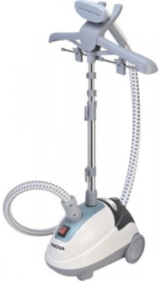 NOVA NO-GS2282 Garment Steamer (White, Grey)