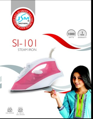 JSM SI-101 Steam Iron (pink)