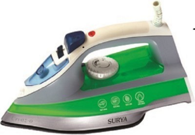 Surya creaz-o Steam Iron (Green, White)