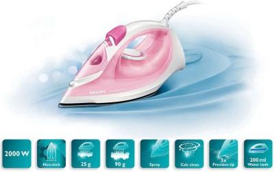 Philips GC1022/40 EasySpeed Steam Iron (Pink)