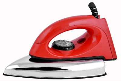 United Red Handle ISI Mark Dry Iron (RED)