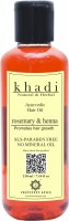 Khadi Natural & Herbal Ayurvedic Hair Growth Oil - Rosemary & Henna (Paraben Free) Continent Spice CS682005 Hair Oil: Hair Oil
