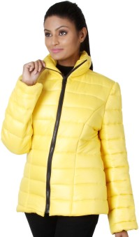 Martini Full Sleeve Solid Women's Quilted Jacket