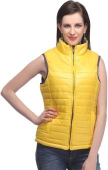 Madame Sleeveless Solid Women's Jacket
