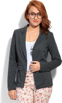 Femella Full Sleeve Solid Women Jacket