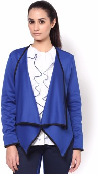 Kaaryah Aurora Full Sleeve Solid Women's Drape Jacket