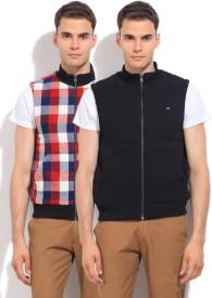 Arrow Sports Sleeveless Solid Men's Jacket