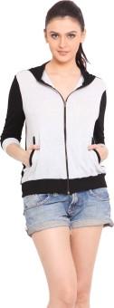 Trend Arrest Full Sleeve Solid Women's Light Winter Jacket