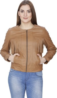 Famous By Payal Kapoor Full Sleeve Solid Women's Jacket
