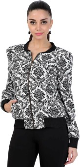 Fusion Beats Full Sleeve Printed Women's Jacket