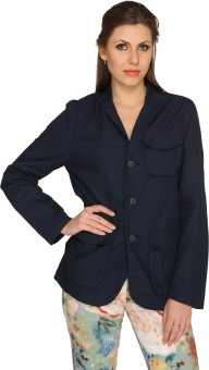 EverSaver Summer Full Sleeve Solid Women's Casual Jacket