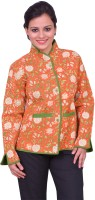 ChhipaPrints Full Sleeve Printed Reversible Women's Quilted Reversible Jacket - JCKEFNPJVNWFH8YW