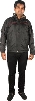 Cardulis Full Sleeve Solid Men's Rain And Winter Jacket
