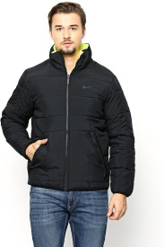 Nike Sun Full Sleeve Solid Men's Quilted Reversible Jacket