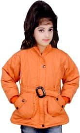 Kabeer Full Sleeve Solid Girl's Jacket