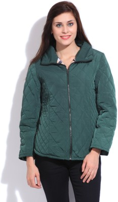 Duke Duke Full Sleeve Solid Women's Jacket (Green)
