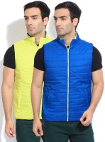 Flying Machine Sleeveless Solid Reversible Men's Reversible Jacket - JCKDZTZAKNQBXKVZ