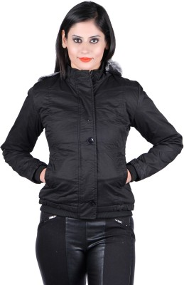 pretty nice 5b385 39df3 Unifit L-769 Full Sleeve Solid Women's Quilted Jacket for Rs ...
