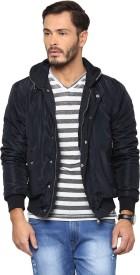 Yepme Full Sleeve Solid Men's Jacket
